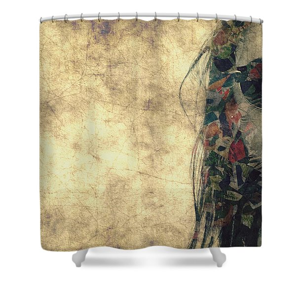 You Fill Up My Senses Shower Curtain