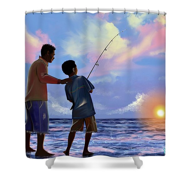 You Make Him Proud Shower Curtain