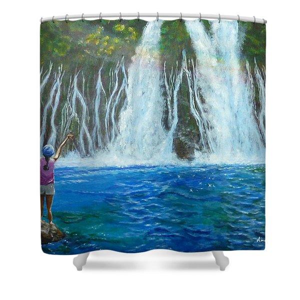 Youthful Spirit Shower Curtain