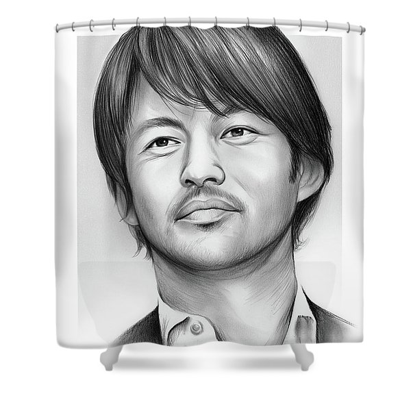 Yutaka Takenouchi Shower Curtain