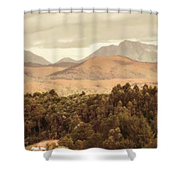 Zeehan And Beyond Shower Curtain