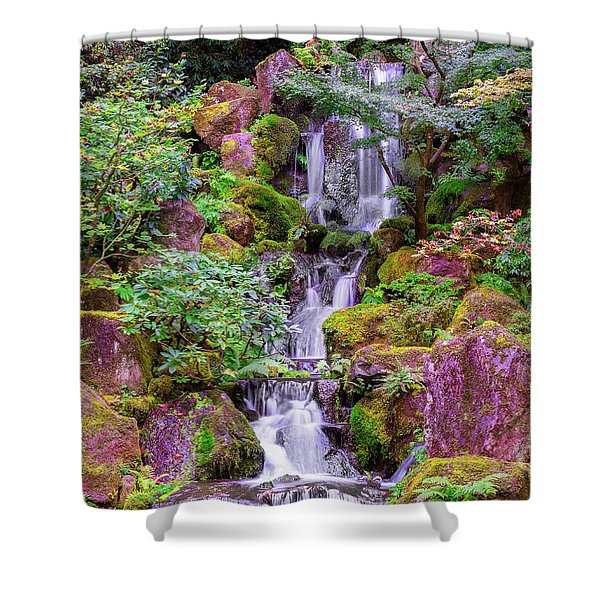 Zen Garden Shower Curtain