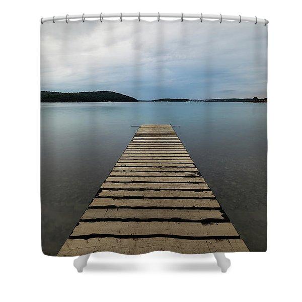 Zen II Shower Curtain