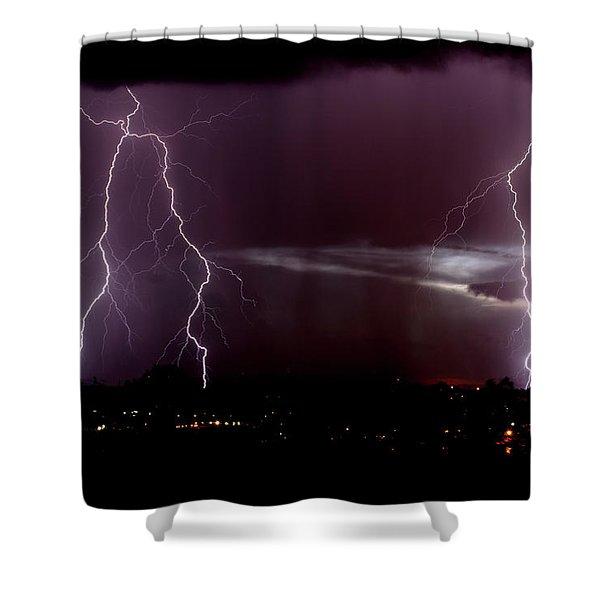 Zero Mississippi Shower Curtain
