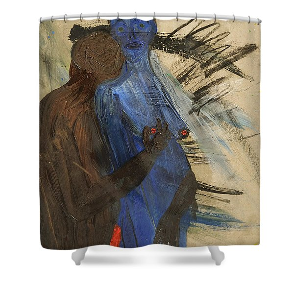 Zeus And His Thunderbolt Shower Curtain