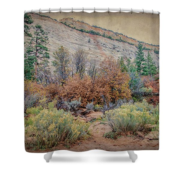 Zions Garden Shower Curtain
