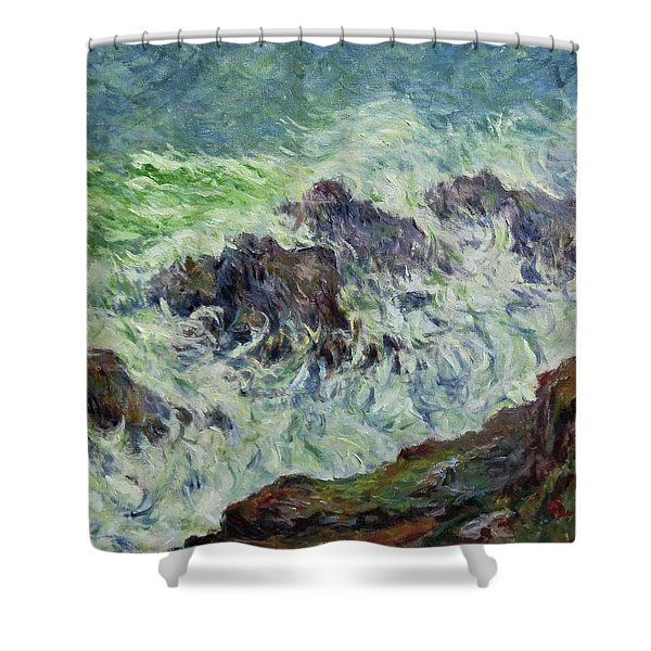 Heavy Weather Shower Curtain