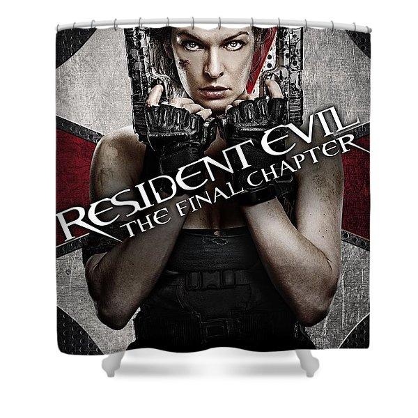 Resident Evil Shower Curtains Fine Art America