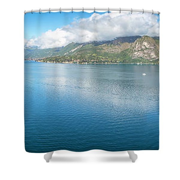 Bellagio Italy Shower Curtains Fine Art America