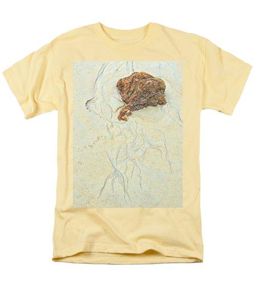Beach Sand  2 Men's T-Shirt  (Regular Fit) by Marcia Lee Jones