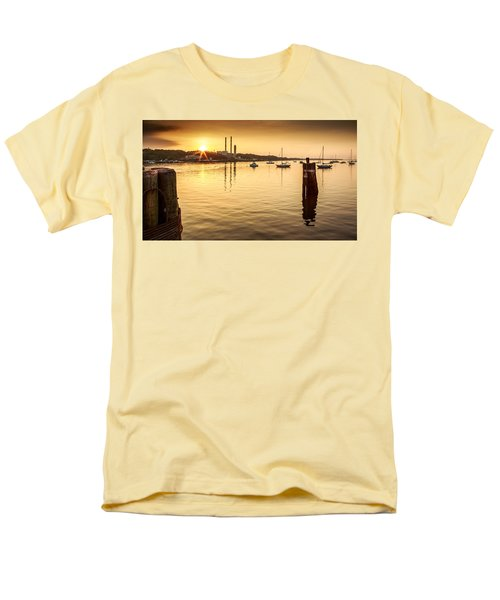 Port Jefferson Men's T-Shirt  (Regular Fit) by Mihai Andritoiu