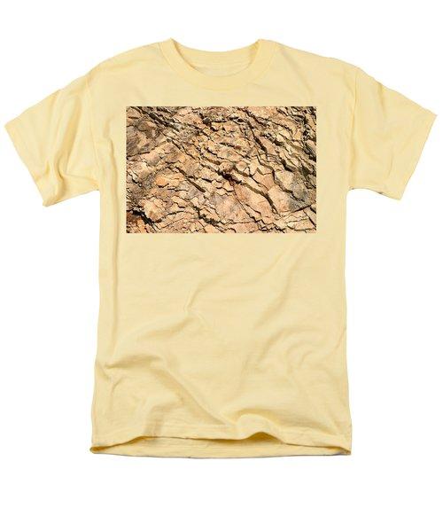 Men's T-Shirt  (Regular Fit) featuring the photograph Rock Wall by Henrik Lehnerer