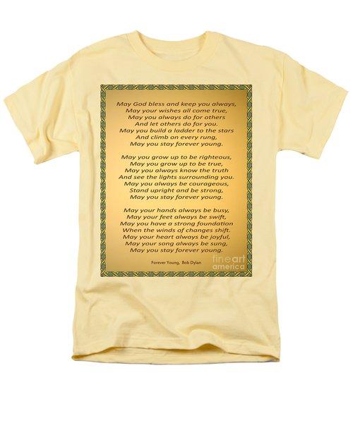148- Bob Dylan Men's T-Shirt  (Regular Fit) by Joseph Keane