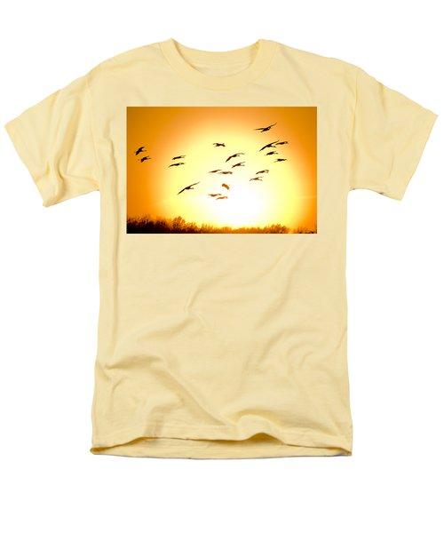 Migration Men's T-Shirt  (Regular Fit) by Alexey Stiop