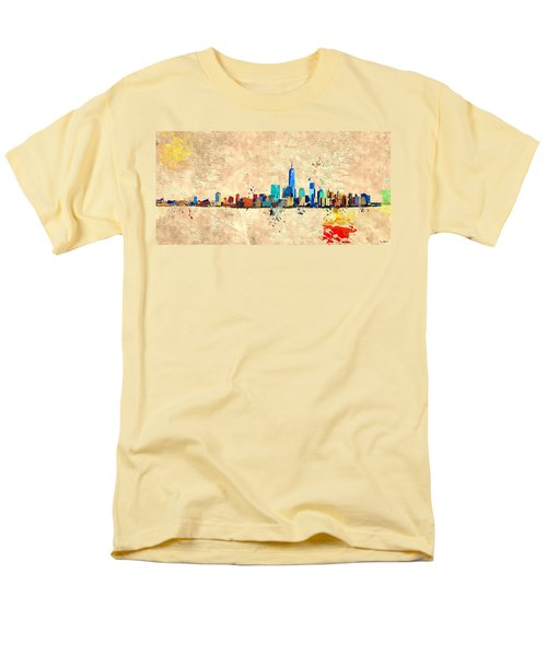 Nyc Grunge Men's T-Shirt  (Regular Fit) by Daniel Janda