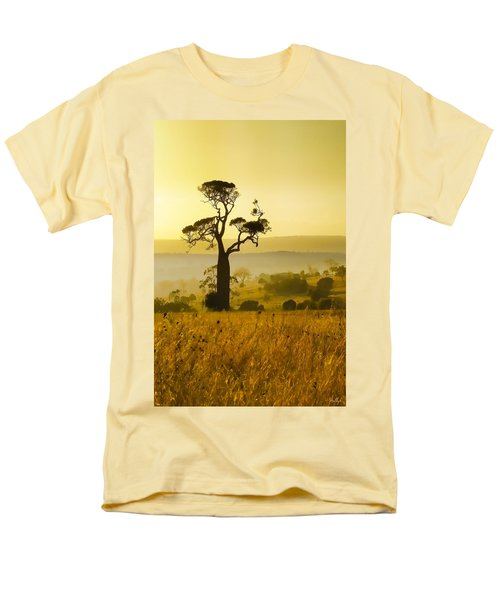 A Boab Sunrise Men's T-Shirt  (Regular Fit) by Holly Kempe