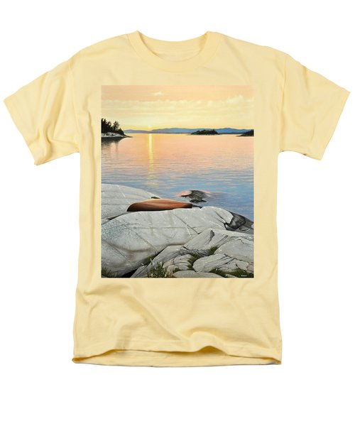 A Quiet Time Men's T-Shirt  (Regular Fit) by Kenneth M  Kirsch