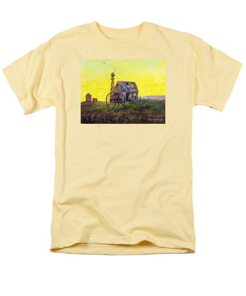 Abandoned  Farm Men's T-Shirt  (Regular Fit) by Lee Piper