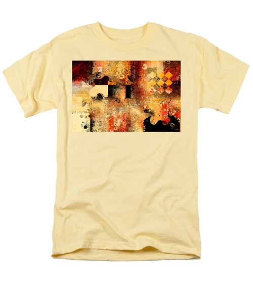 Abstracture - 103106046f Men's T-Shirt  (Regular Fit) by Variance Collections