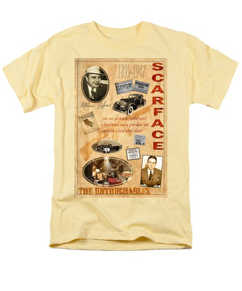 Al Capone Men's T-Shirt  (Regular Fit) by Andrew Fare