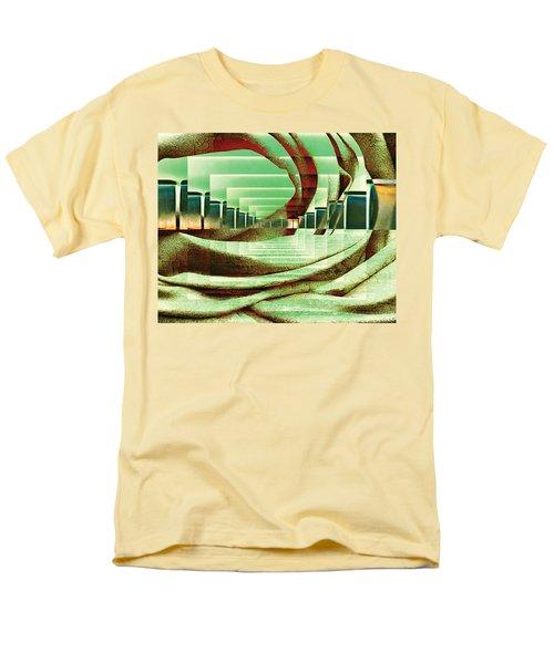 Men's T-Shirt  (Regular Fit) featuring the digital art Atrium by Paula Ayers