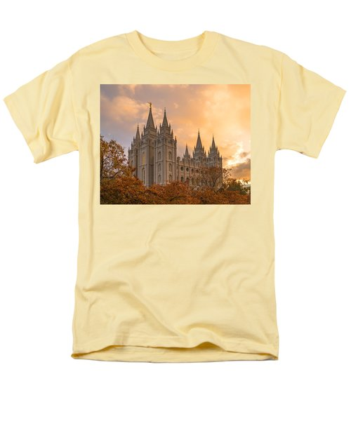 Autumn Splendor Men's T-Shirt  (Regular Fit) by Dustin  LeFevre
