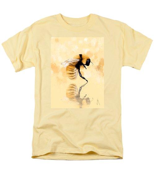 Bee Men's T-Shirt  (Regular Fit) by Veronica Minozzi