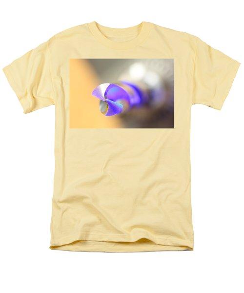 Blue Three Quarter Men's T-Shirt  (Regular Fit) by David Andersen