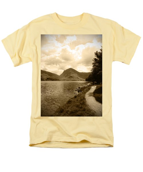 Buttermere Bright Sky Men's T-Shirt  (Regular Fit) by Kathy Spall