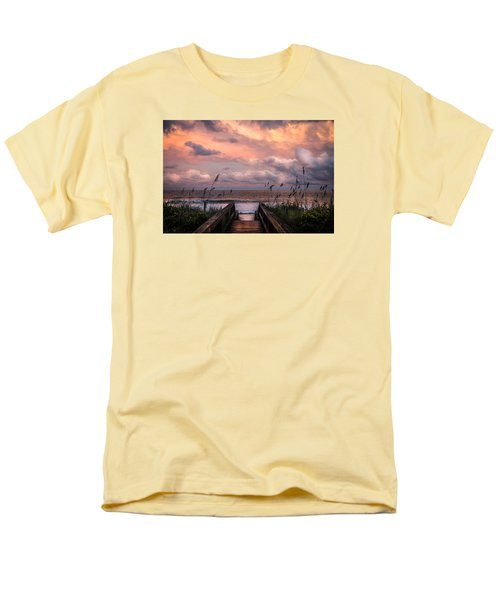 Carolina Dreams Men's T-Shirt  (Regular Fit) by Karen Wiles