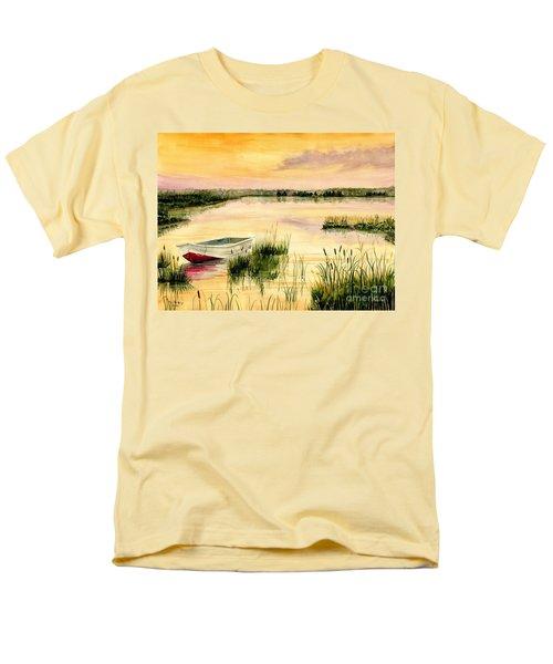 Chesapeake Marsh Men's T-Shirt  (Regular Fit) by Melly Terpening
