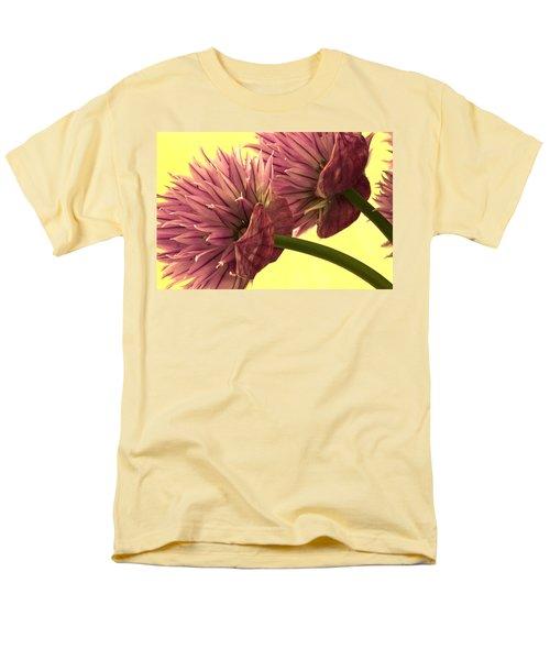 Chive Macro Beauty Men's T-Shirt  (Regular Fit) by Sandra Foster