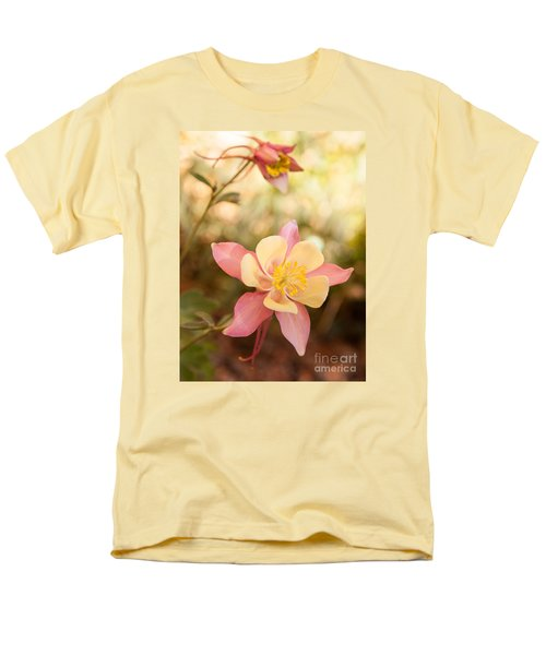 Men's T-Shirt  (Regular Fit) featuring the photograph Columbine by Roselynne Broussard