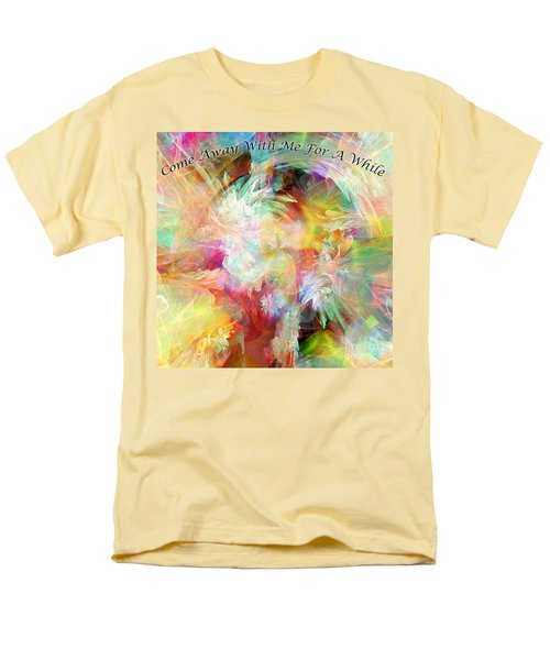 Men's T-Shirt  (Regular Fit) featuring the digital art Come Away by Margie Chapman
