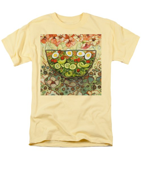 Cool Summer Salad Men's T-Shirt  (Regular Fit) by Jen Norton