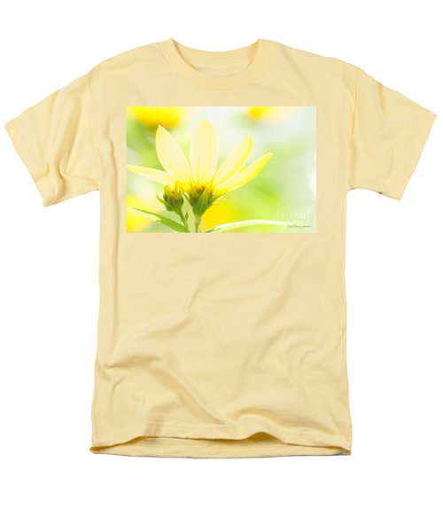 Daisies In The Sun Men's T-Shirt  (Regular Fit) by David Perry Lawrence