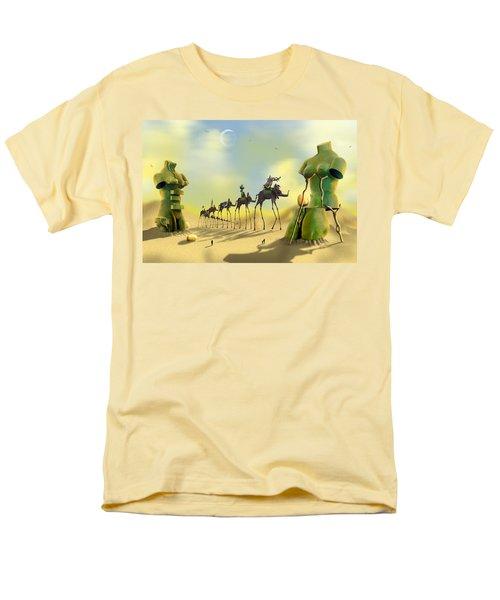 Dali On The Move  Men's T-Shirt  (Regular Fit)