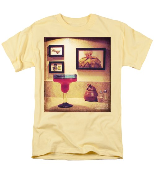Men's T-Shirt  (Regular Fit) featuring the photograph Date With Self by Meghan at FireBonnet Art