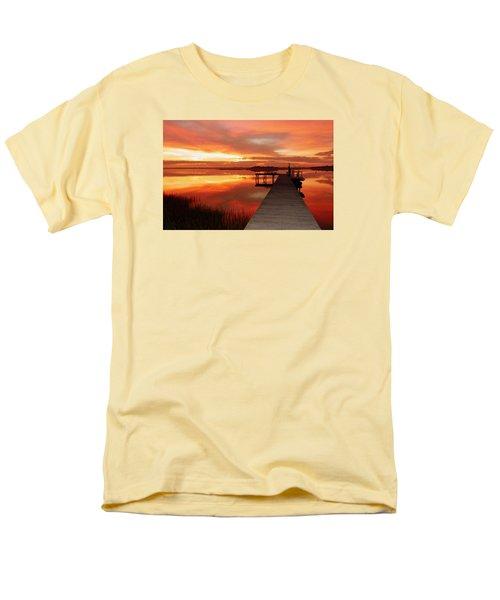 Dawn Of New Year Men's T-Shirt  (Regular Fit) by Karen Wiles