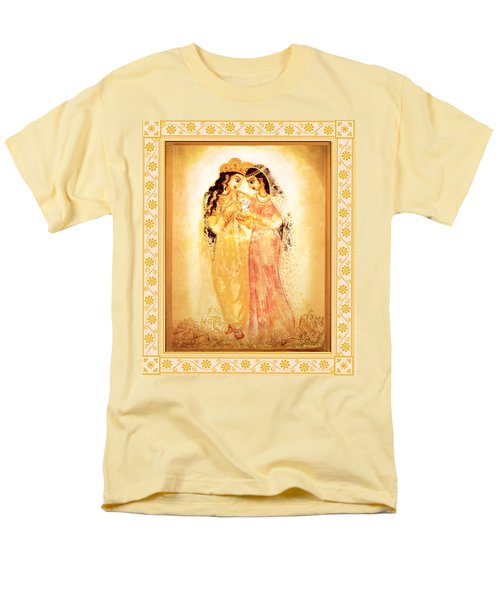 Men's T-Shirt  (Regular Fit) featuring the mixed media Divine Love by Ananda Vdovic