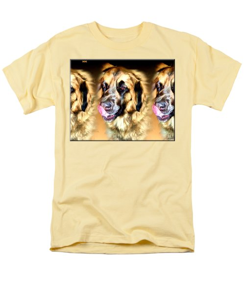 Men's T-Shirt  (Regular Fit) featuring the digital art Dog by Daniel Janda