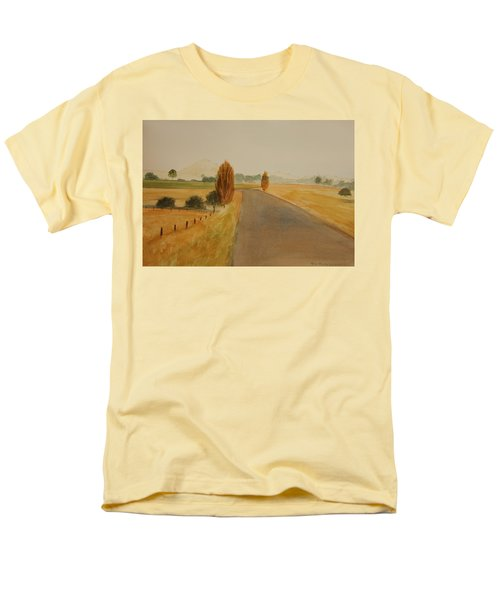 Men's T-Shirt  (Regular Fit) featuring the painting Dungog Area Nsw Australia by Tim Mullaney