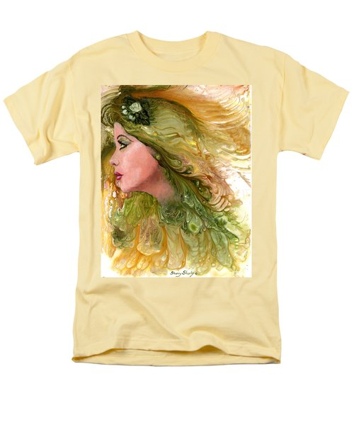 Earth Maiden Men's T-Shirt  (Regular Fit) by Sherry Shipley