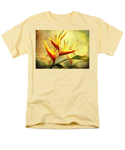 Flames Of Paradise Men's T-Shirt  (Regular Fit) by Ellen Cotton