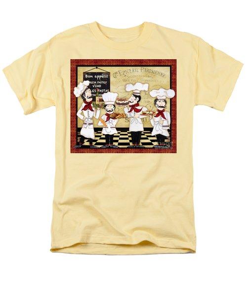 French Chefs-bon Appetit Men's T-Shirt  (Regular Fit) by Jean Plout