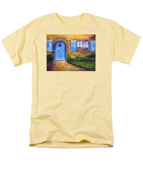 French Cottage Men's T-Shirt  (Regular Fit) by Loretta Luglio