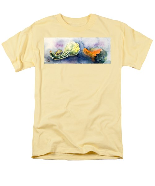 Froggy And Gourds Men's T-Shirt  (Regular Fit) by Yoshiko Mishina