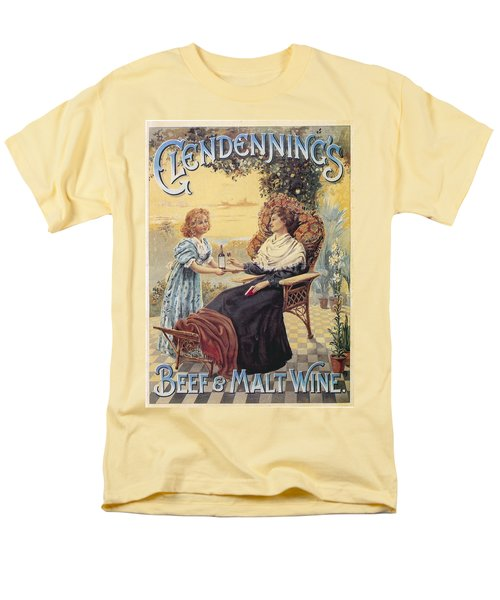 Men's T-Shirt  (Regular Fit) featuring the photograph Glendenning's Beef And Malt Wine Ad by Gianfranco Weiss
