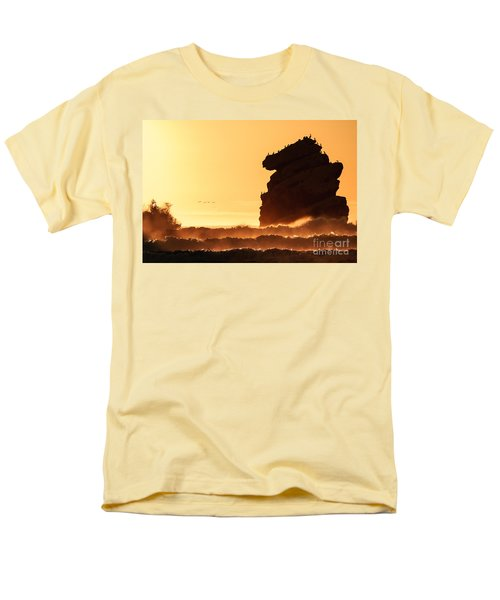Glorious Afternoon At Morro Bay Men's T-Shirt  (Regular Fit) by Terry Garvin