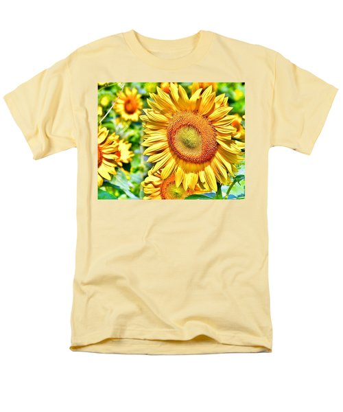 Glorious Sunflowers Men's T-Shirt  (Regular Fit)